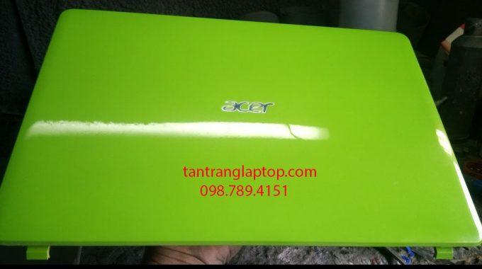 Tân trang laptop theo phong cách mới, sơn đổi màu laptop theo ý thích và màu phong thủy