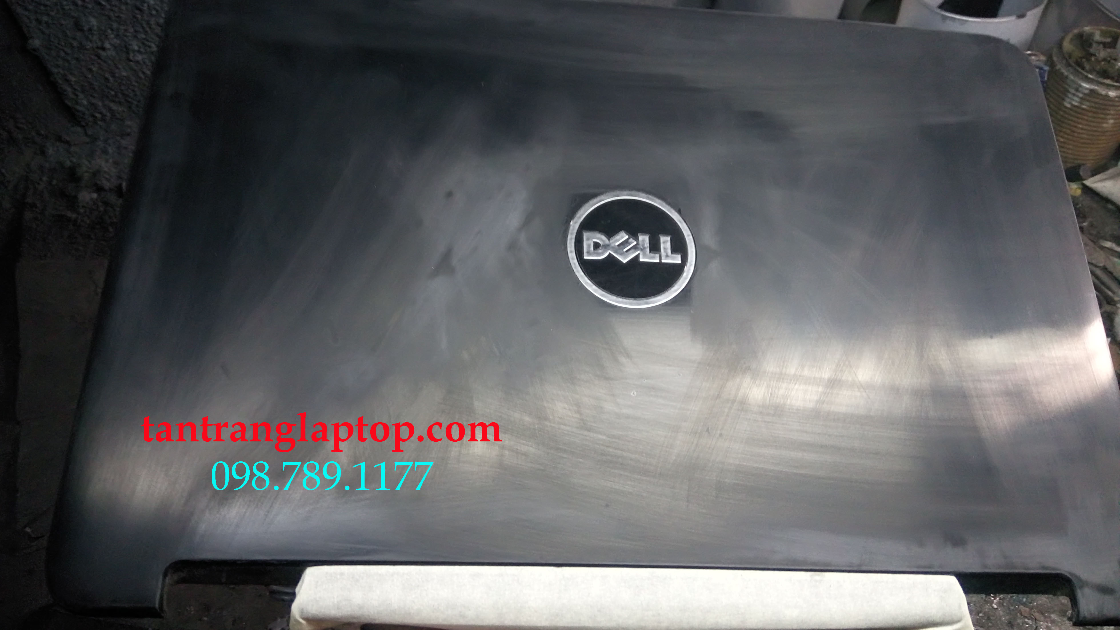 tân trang laptop quận tân phú, sơn vỏ laptop dell 4050