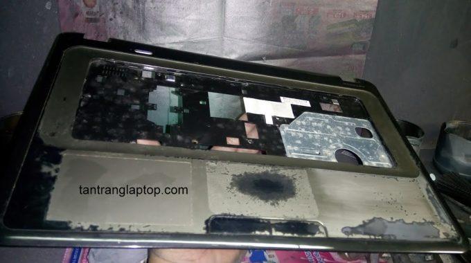 Sơn lại laptop HP Pavilion g series G4, bóng đẹp như mới